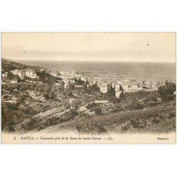 carte postale ancienne 20 BASTIA. Panorama route de Saint-Florent n°5