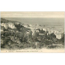 carte postale ancienne 20 BASTIA. Panorama route de Saint-Florent n°7