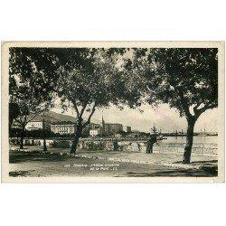 carte postale ancienne 20 BASTIA. Hôtel Impérial et Port. Carte Photo