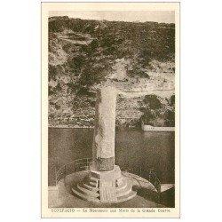 carte postale ancienne 20 CORSE. Bonifacio. Monument aux Morts de la Grande Guerre