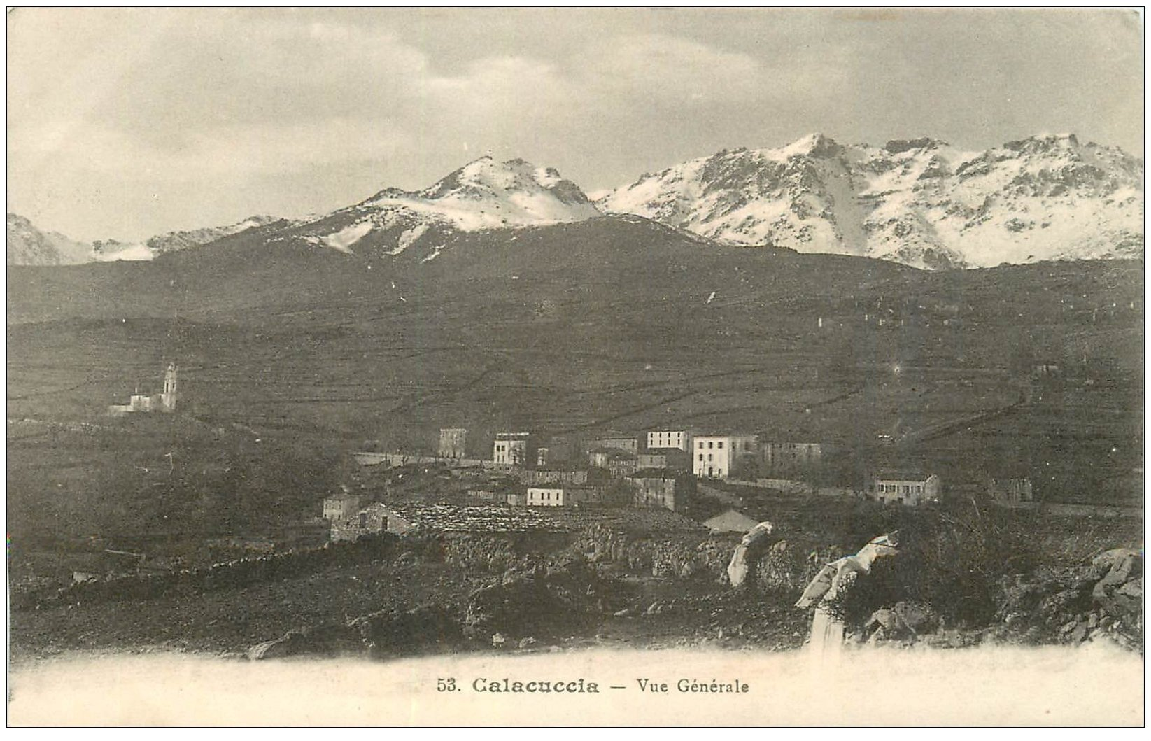 carte postale ancienne 20 CORSE. Calacuccia