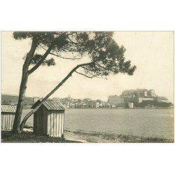 carte postale ancienne 20 CORSE. Calvi. Panorama vu de la Plage. Carte de Luxe LL.