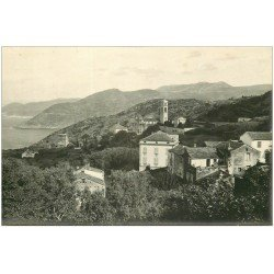 carte postale ancienne 20 CORSE. Cap-Corse. Pino. Carte Photo