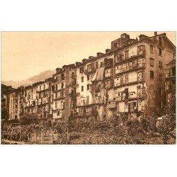 carte postale ancienne 20 CORSE. Corte. Vieilles Maisons de la Ville basse