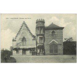 carte postale ancienne 03 HAUTERIVE. Château des Cours