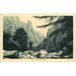 carte postale ancienne 20 CORSE. Gorges du Tavignano