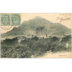 carte postale ancienne 20 CORSE. Le Monte-d'Oro 1906