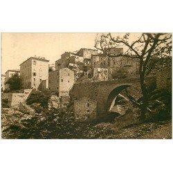 carte postale ancienne 20 CORSE. Sartène. Le Pont de Pierre. Tomasi