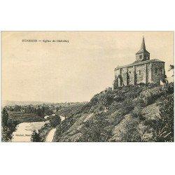 carte postale ancienne 03 HERISSON. Eglise de Châtelloy 1925