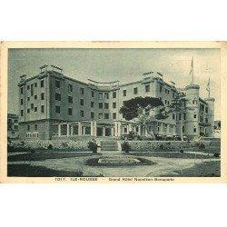carte postale ancienne 20 ILE ROUSSE. Grand Hôtel Napoléon Bonaparte.