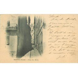 carte postale ancienne 20 BASTIA. Rue du Môle 1904
