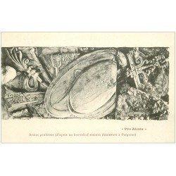 carte postale ancienne 21 ALESIA. Armes gauloises