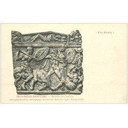 carte postale ancienne 21 ALESIA. Bataille de Gaulois sur Sarcophage