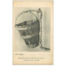 carte postale ancienne 21 ALESIA. Seau gallo-romain
