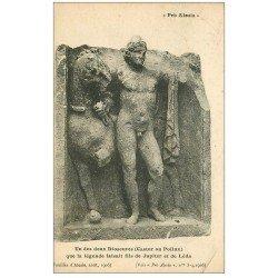 carte postale ancienne 21 ALESIA. Un des deux Dioscures