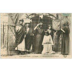 carte postale ancienne 21 ALISE-SAINTE-REINE. La Tragédie. La Martyre 1907