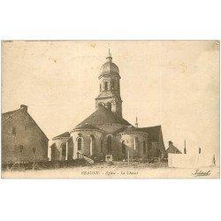 carte postale ancienne 21 BEAUNE. Eglise le Chevet