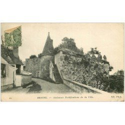 carte postale ancienne 21 BEAUNE. Fortifications 1919