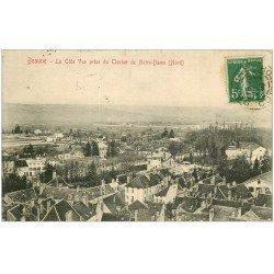 carte postale ancienne 21 BEAUNE. La Côte 1914