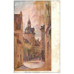 carte postale ancienne 21 BEAUNE. Le Beffroi 1906