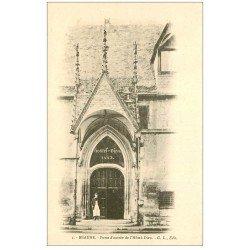 carte postale ancienne 21 BEAUNE. Porte d'Entrée Hôtel-Dieu. Envoyée qu'en 1965...