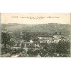 carte postale ancienne 21 BEAUNE. Vue sur la Côte et Monte-Ronde 1923