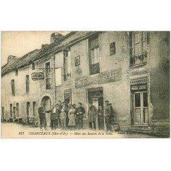 carte postale ancienne 21 CHANCEAUX. Hôtel des Sources de la Seine