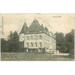 carte postale ancienne 21 CHATEAU D'AISY 1908