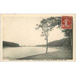 carte postale ancienne 03 ISLE-ET-BARDAIS. Etang de Pirot. Le Rio tari 1938