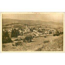 carte postale ancienne 03 LA CHABANNE en 1933. Trace café recto-verso