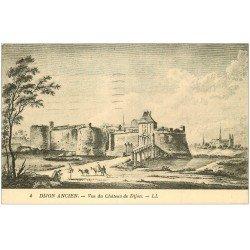 carte postale ancienne 21 DIJON Ancien. Vue du Château de Dijon 1932