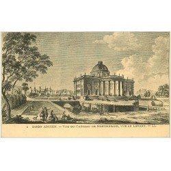 carte postale ancienne 21 DIJON Ancien. Vue du Château de Montmusard 1933
