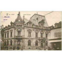 carte postale ancienne 21 DIJON. Caisse d'Epargne 1916. Epicerie du Centre