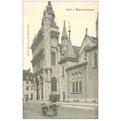 carte postale ancienne 21 DIJON. Eglise Notre-Dame