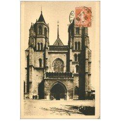 carte postale ancienne 21 DIJON. Eglise Saint-Bénigne 1936 (I)
