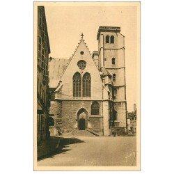 carte postale ancienne 21 DIJON. Eglise Saint-Jean 1943