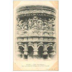 carte postale ancienne 21 DIJON. Eglise Saint-Michel. Dais surmontant le Taureau