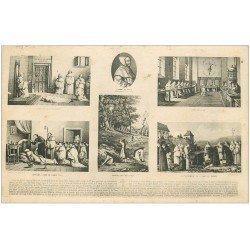 carte postale ancienne 03 L'Abbé de RANCE. Mort et enterrement 1927
