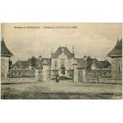 carte postale ancienne 03 LAVAULT-SAINTE-ANNE. Hôpital