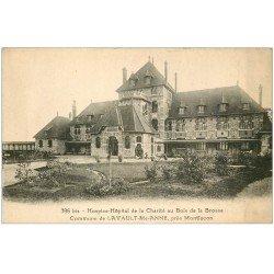 carte postale ancienne 03 LAVAULT-SAINTE-ANNE. Hospice Charité Bois de la Brosse