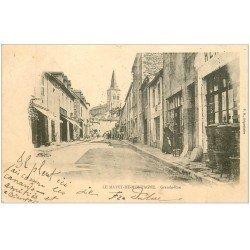 carte postale ancienne 03 LE MAYET-DE-MONTAGNE. Grande Rue 1904