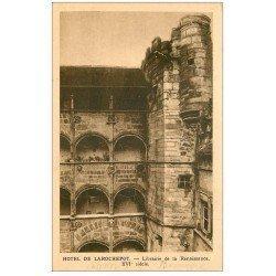 carte postale ancienne 21 HOTEL DE LAROCHEPOT. Librairie de la Renaissance. Beaune