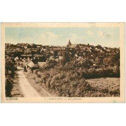 carte postale ancienne 03 LURCY LEVY. Vue générale 1947