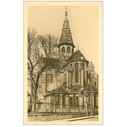 carte postale ancienne 21 SEMUR. Eglise Notre-Dame Abside