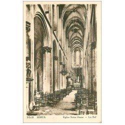 carte postale ancienne 21 SEMUR. Eglise Notre-Dame la Nef