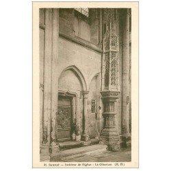 carte postale ancienne 21 SEMUR. Eglise Notre-Dame le Ciborium