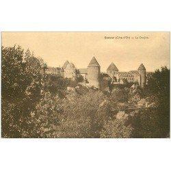 carte postale ancienne 21 SEMUR. Le Donjon