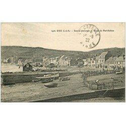 carte postale ancienne 22 BINIC. Banche prolongée et Vallée du Pont-Gâteau 1922