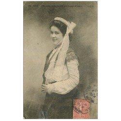 carte postale ancienne 22 BINIC. Fill, Soeur et Femme de Marin 1907