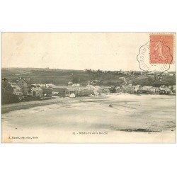 carte postale ancienne 22 BINIC. Vu de la Blanche 1906